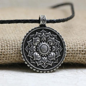 Tibetan Sacred Ohm Necklace