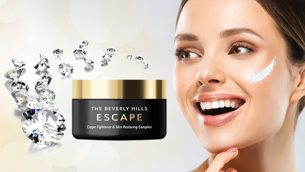 NEW!<br>The Beverly Hills Escape – with Diamonds! Crepe Tightener & Skin Restoring Complex
