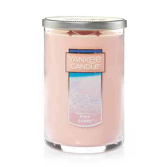2 WICK TUMBLER LARGE PINK SANDS (623g) - PERFECT SERENITY BLISS INC.