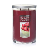 2 WICK TUMBLER LARGE BLACK CHERRY (623g) - PERFECT SERENITY BLISS INC.