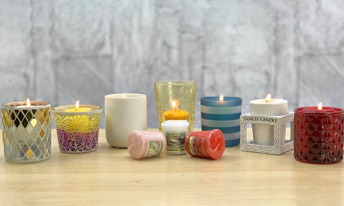 VOTIVE CANDLE MACARON TREATS (49g) - PERFECT SERENITY BLISS INC.