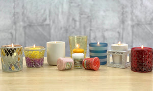 VOTIVE CANDLE SWEET PEA AND MADELEINES (49g) - PERFECT SERENITY BLISS INC.