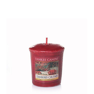 VOTIVE CANDLE CRANBERRY CHUTNEY (49g) - PERFECT SERENITY BLISS INC.
