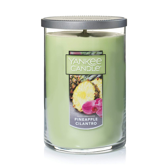 2 WICK TUMBLER LARGE PINEAPPLE CILANTRO (623g) - PERFECT SERENITY BLISS INC.