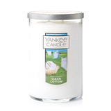 2 WICK TUMBLER LARGE CLEAN COTTON (623g) - PERFECT SERENITY BLISS INC.