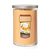 2 WICK TUMBLER LARGE PEACH COBBLER (623g) - PERFECT SERENITY BLISS INC.
