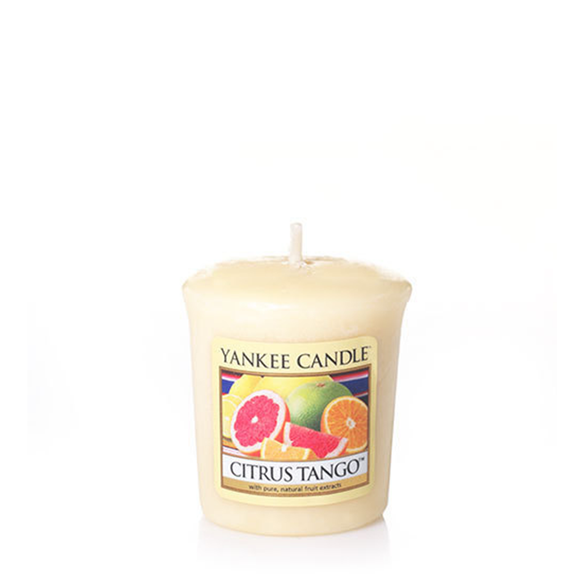 VOTIVE CANDLE CITRUS TANGO (49g) - PERFECT SERENITY BLISS INC.
