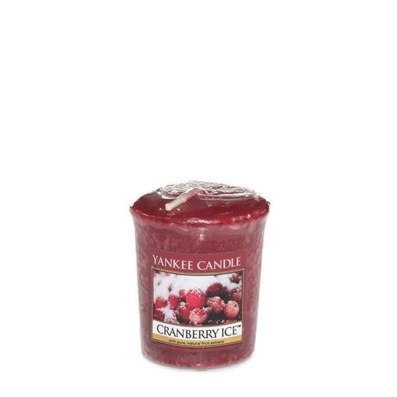 VOTIVE CANDLE CRANBERRY ICE (49g) - PERFECT SERENITY BLISS INC.