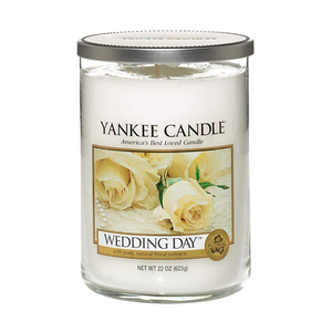 2 WICK TUMBLER LARGE WEDDING DAY (623g) - PERFECT SERENITY BLISS INC.