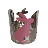 JAR HOLDER EASTER SPRINGS METAL - PERFECT SERENITY BLISS INC.