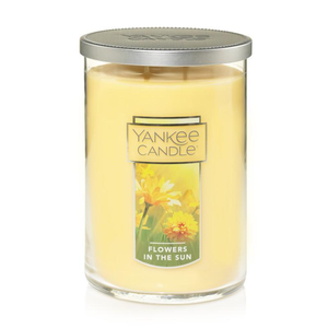 2 WICK TUMBLER LARGE FLOWERS IN THE SUN (623g) - PERFECT SERENITY BLISS INC.