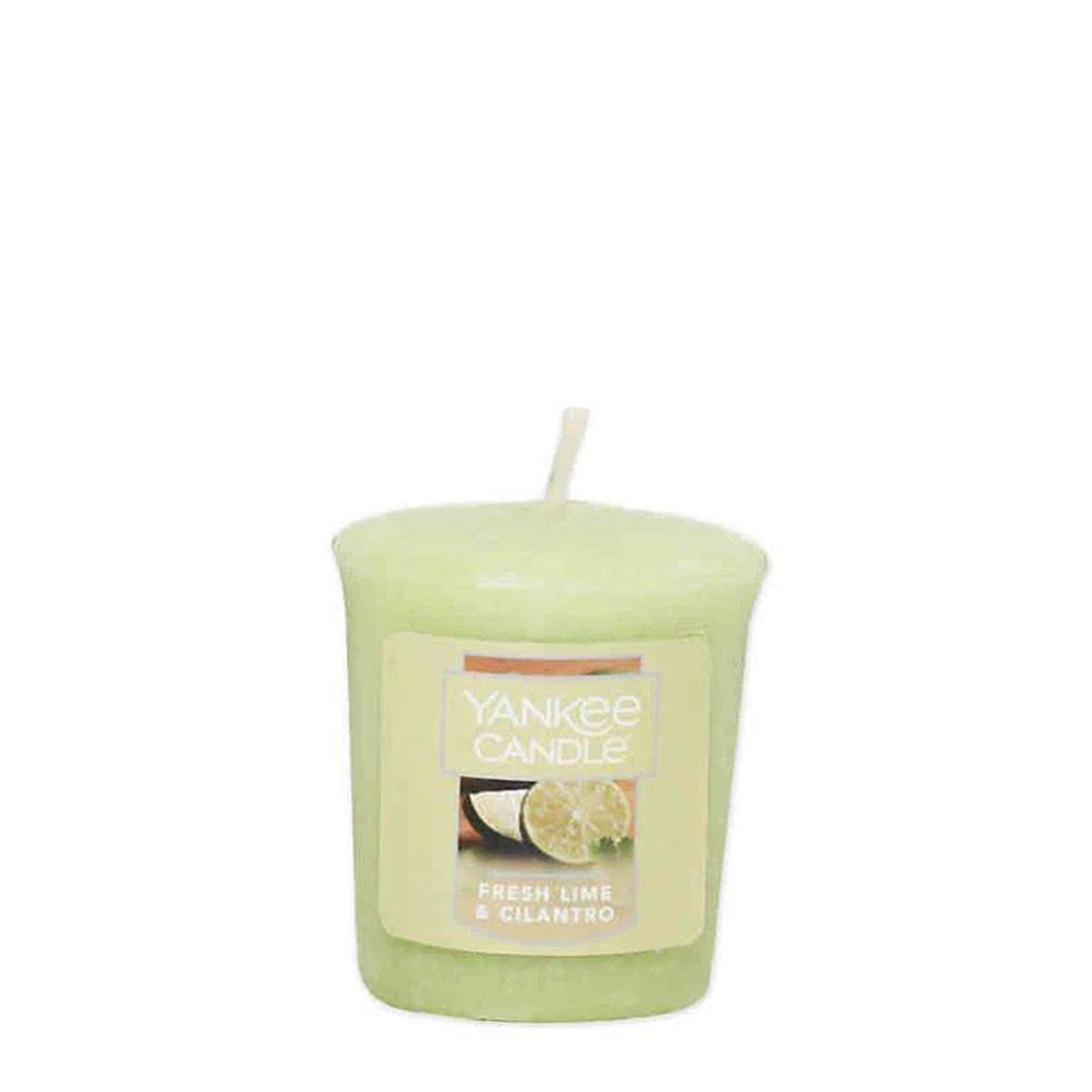 VOTIVE CANDLE FRESH LIME AND CILANTRO (49g) - PERFECT SERENITY BLISS INC.