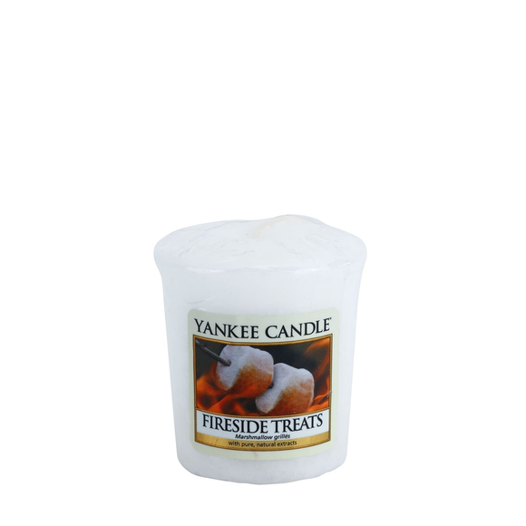 VOTIVE CANDLE FIRESIDE TREATS (49g) - PERFECT SERENITY BLISS INC.