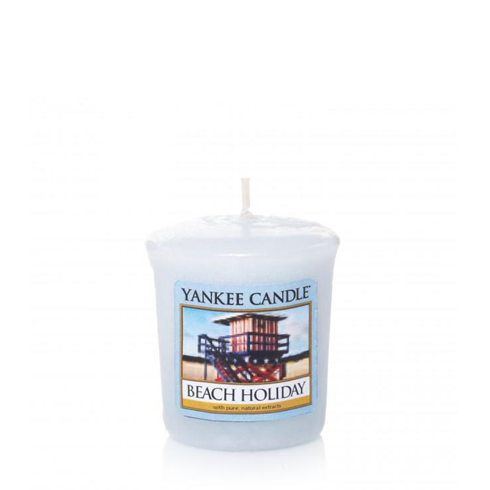 VOTIVE CANDLE BEACH HOLIDAY (49g) - PERFECT SERENITY BLISS INC.