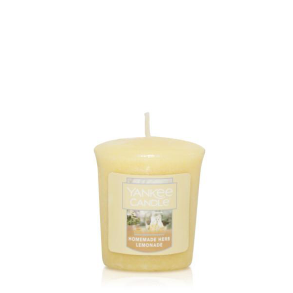 VOTIVE CANDLE HOMEMADE HERB LEMONADE (49g) - PERFECT SERENITY BLISS INC.