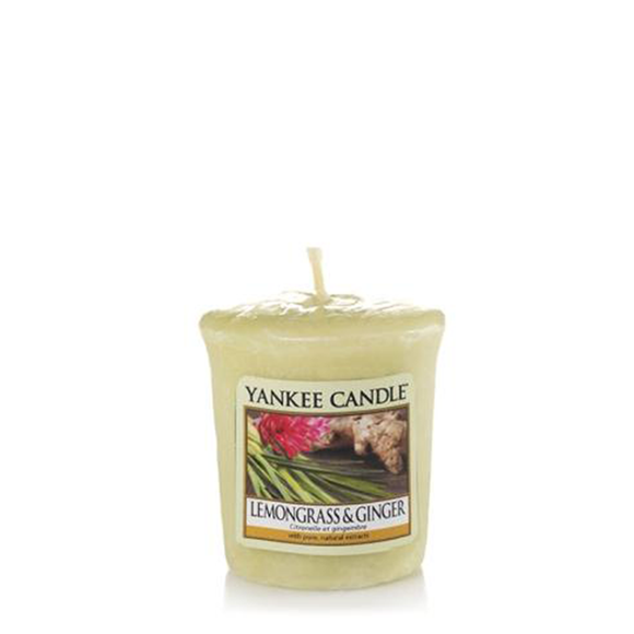 VOTIVE CANDLE LEMONGRASS AND GINGER (49g) - PERFECT SERENITY BLISS INC.