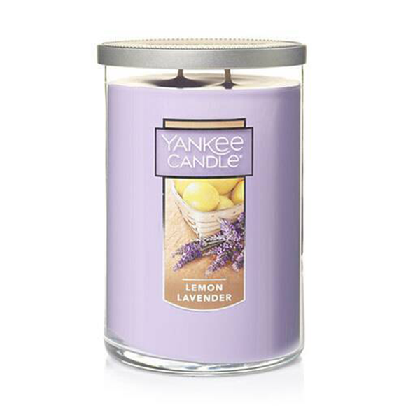 2 WICK TUMBLER LARGE LEMON LAVENDER (623g) - PERFECT SERENITY BLISS INC.