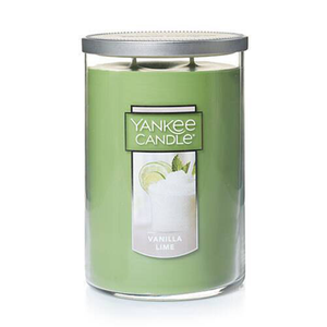 2 WICK TUMBLER LARGE VANILLA LIME (623g) - PERFECT SERENITY BLISS INC.