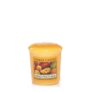 VOTIVE CANDLE MANGO PEACH SALSA (49g) - PERFECT SERENITY BLISS INC.