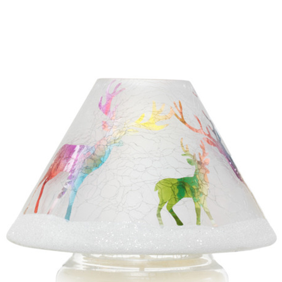 JAR SHADE RAINBOW REINDEER