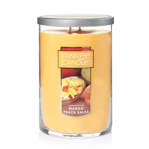 2 WICK TUMBLER LARGE MANGO PEACH SALSA (623g) - PERFECT SERENITY BLISS INC.