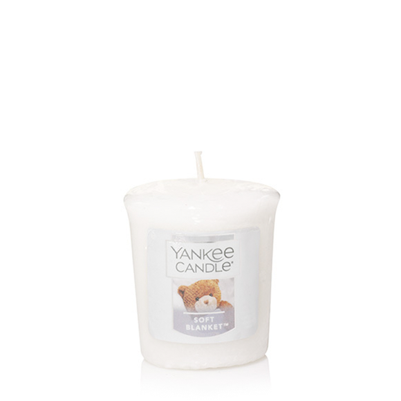 VOTIVE CANDLE SOFT BLANKET (49g) - PERFECT SERENITY BLISS INC.
