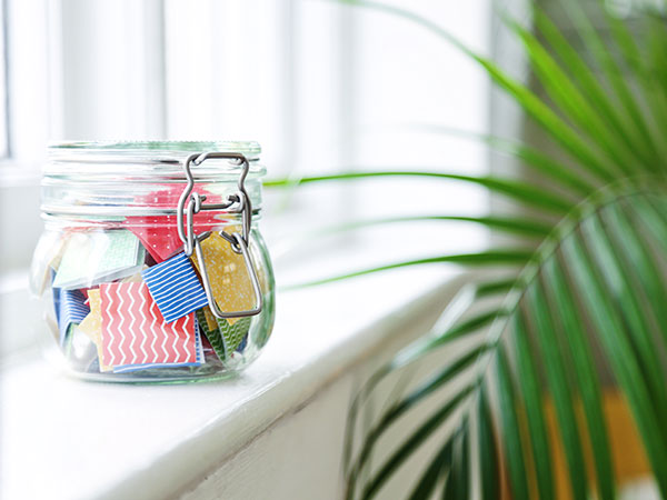 Positive Affirmation Jars