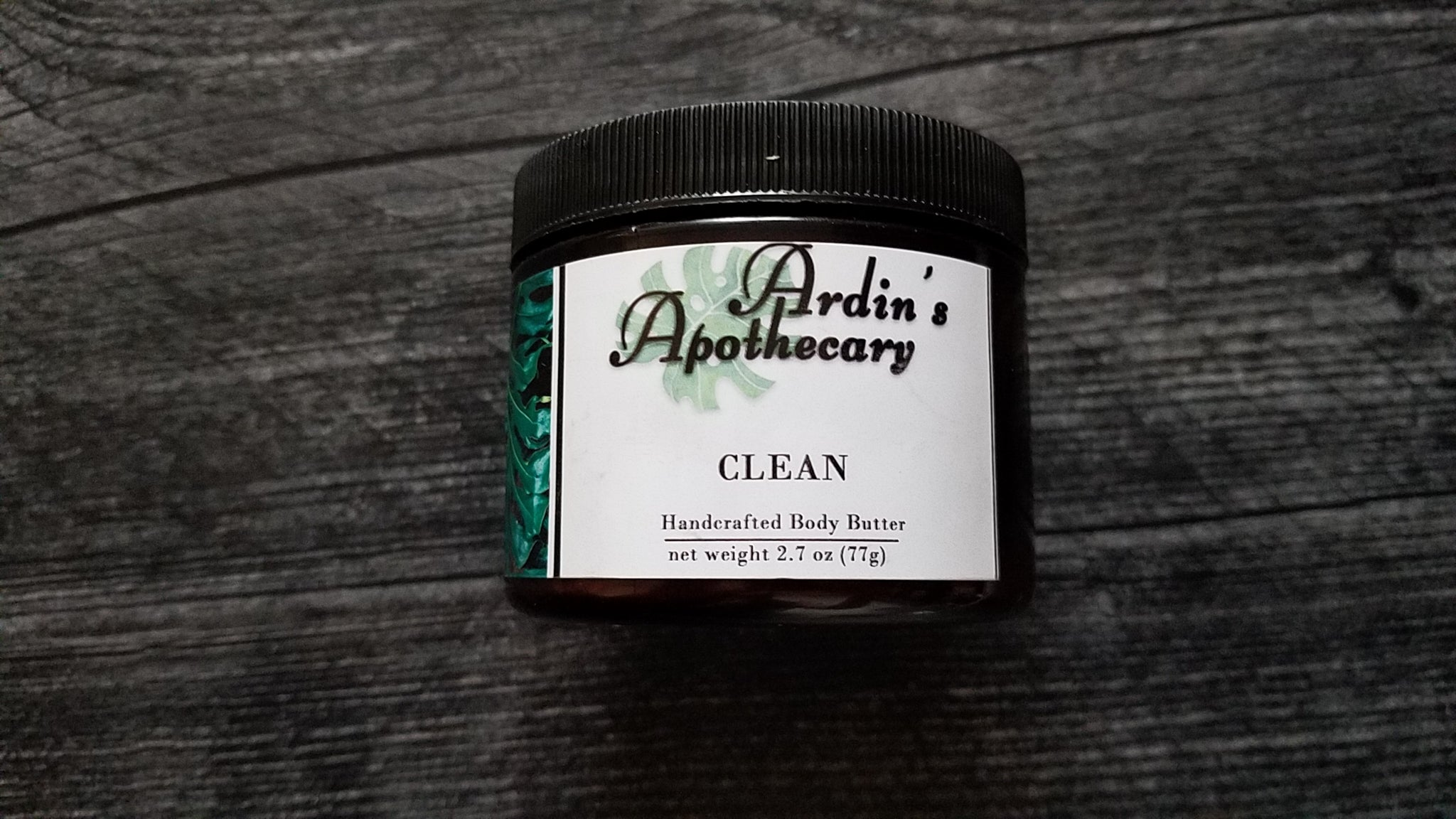 Clean Body Butter
