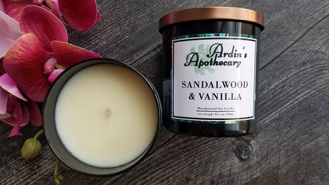 Sandalwood & Vanilla Candle