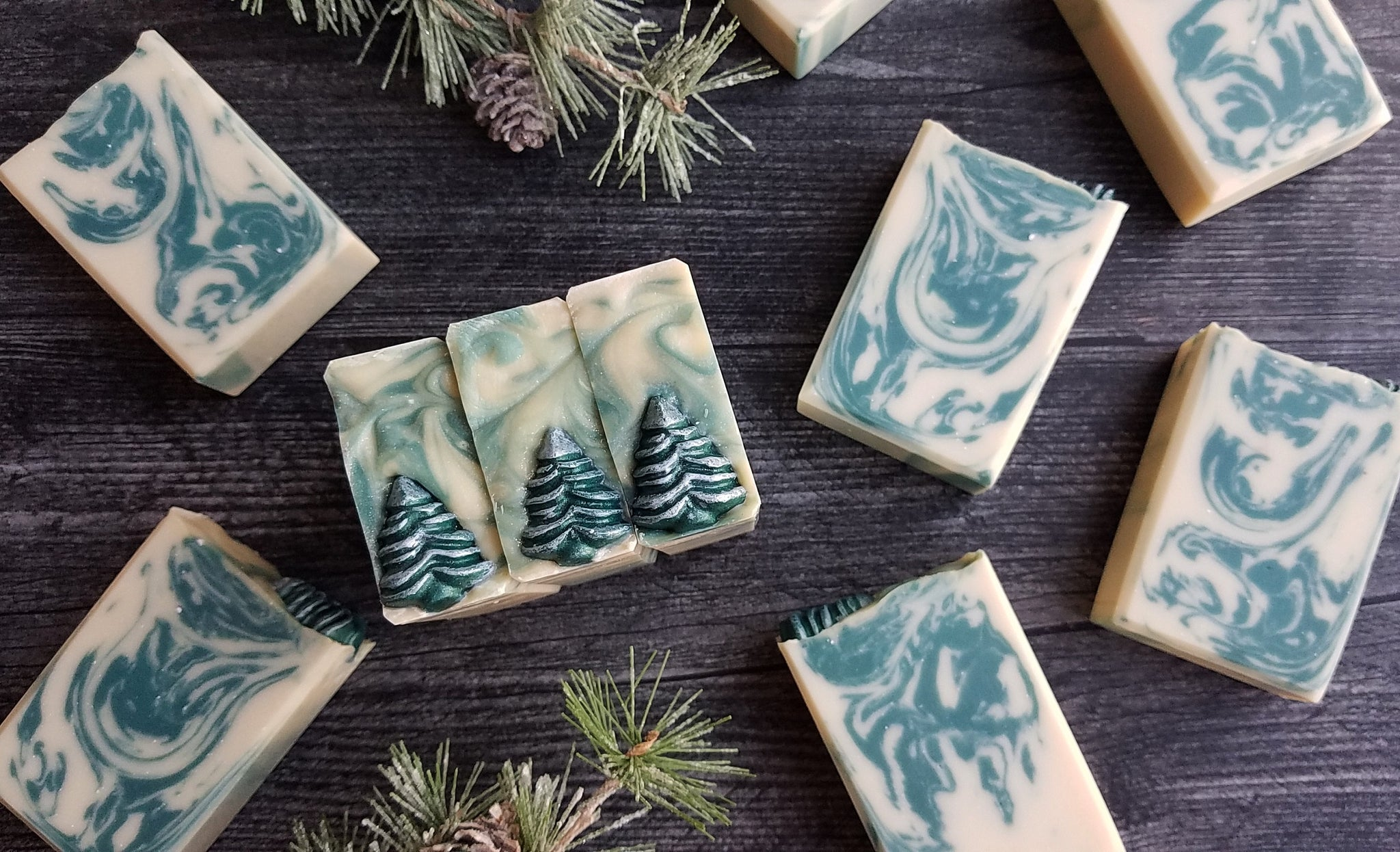 Frosted Fir Soap