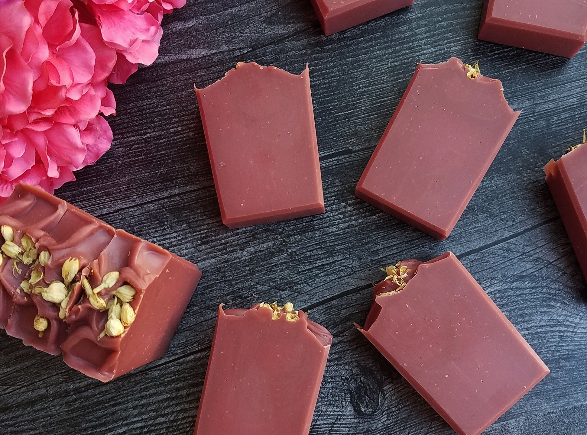 Pink Raspberry Cosmo Soap