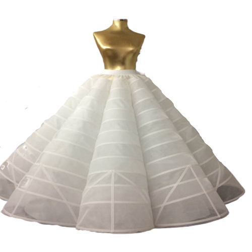How to Wear a Petticoat or Slip Under My Wedding Dress?