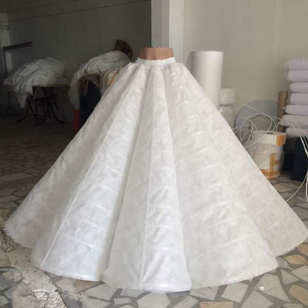 5 steps to make a petticoat wedding dresses at home 2020