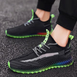 Men Shoes 4D Print Flying Hombre Deportiva