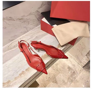 Sexy Thin Heel Pointed Single Shoes High-heeled 2020