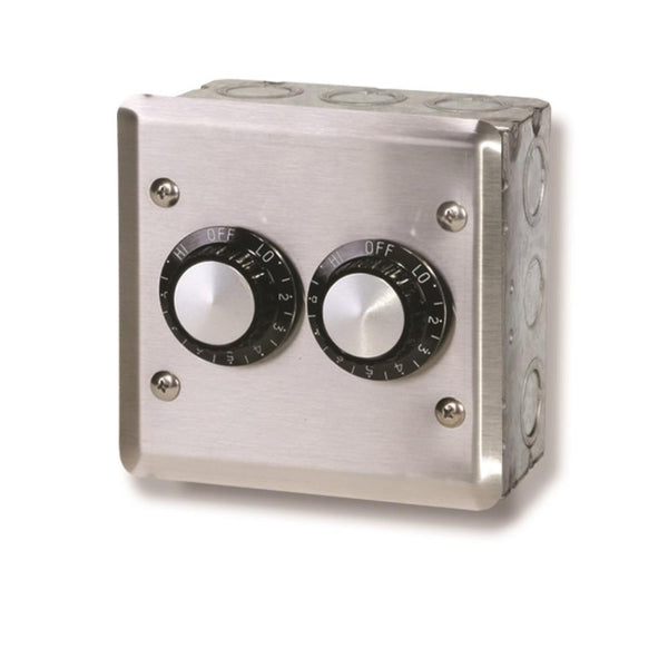 Infratech - Accessory - 120 Volt Dual Reg With Wall Plate and Gang Box