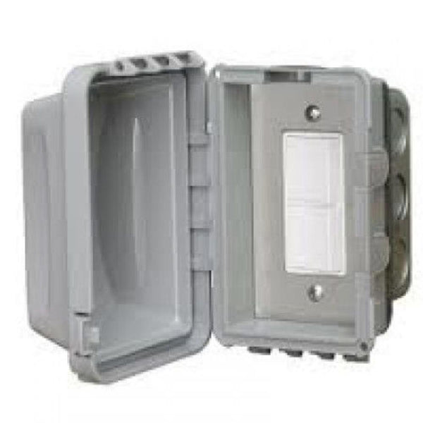 Infratech - Accessory - Single Duplex Switch Flush Mount and Gang Box 20 Amp Per Pole