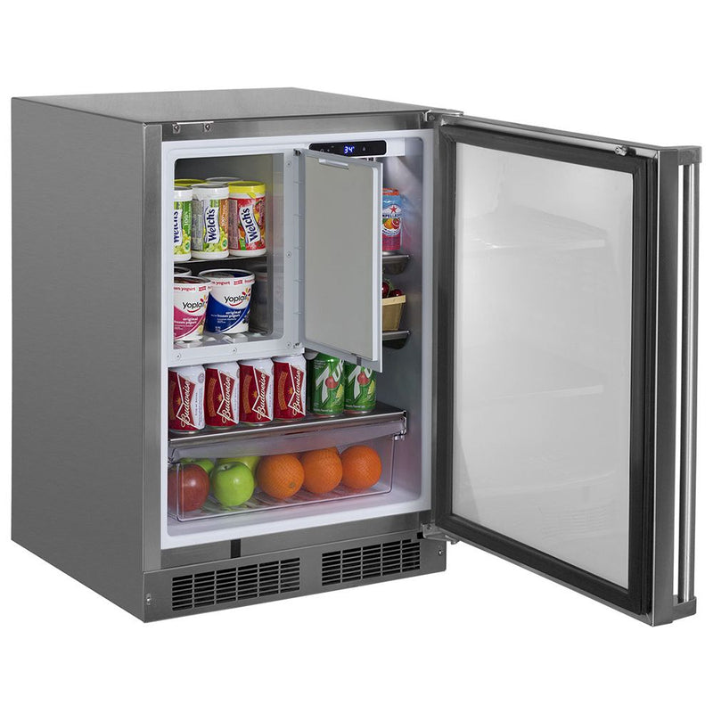 "Marvel 24"" Outdoor Built-In Refrigerator/Freezer"
