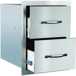 "Summerset 15"" Double Access Drawer"