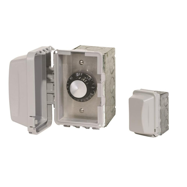 Infratech - Accessory - 120 Volt Single Reg With Flush Mount and Gang Box