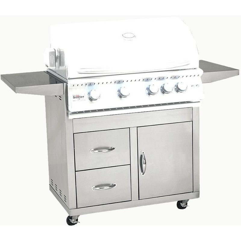 "32"" Summerset Sizzler Pro Grill Cart"