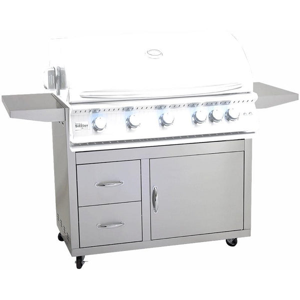 "40"" Summerset Sizzler Pro Grill Cart"