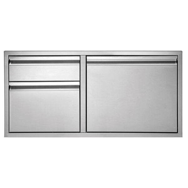 "Twin Eagles 42"" Double Drawer Door Combo"