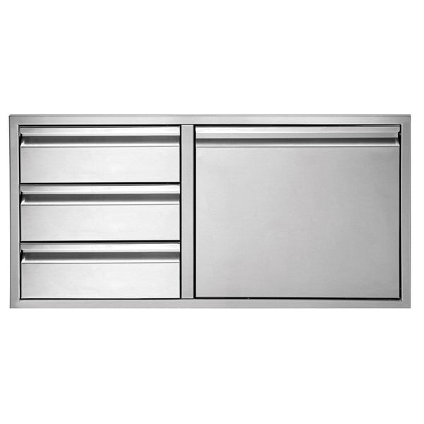 "Twin Eagles 42"" Triple Drawer Door Combo"