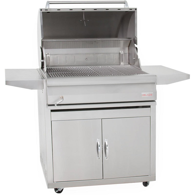 "32"" Blaze Freestanding Charcoal Grill"