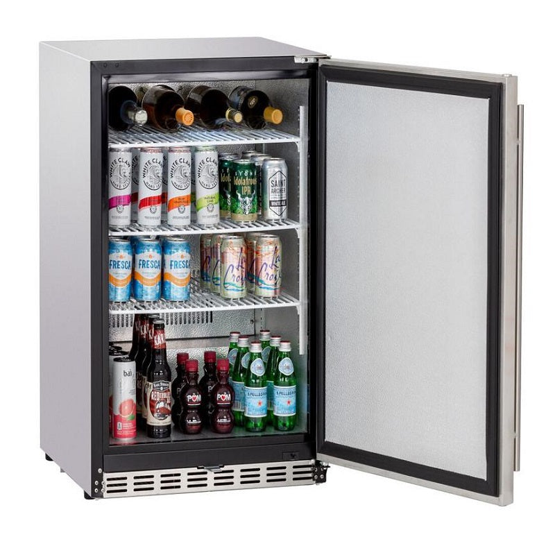 "Summerset 24"" 5.3 Cu. Ft. Deluxe Outdoor Refrigerator"