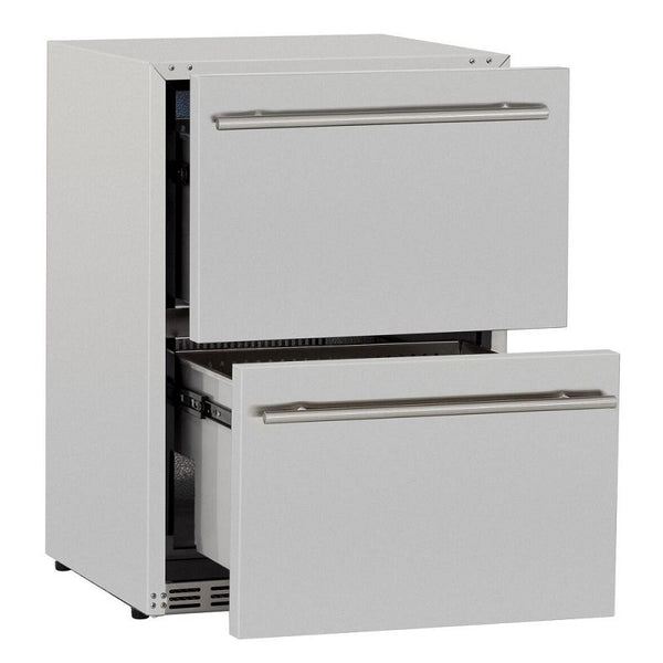 "Summerset 24"" 5.3 Cu. Ft. Double Drawer Refrigerator"