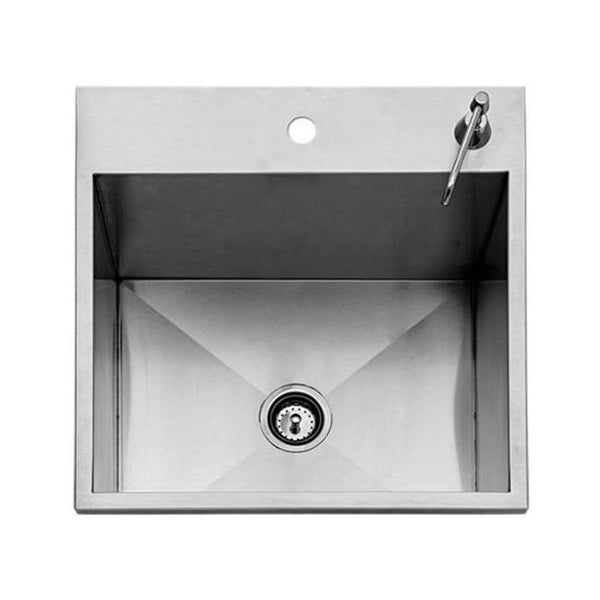 "Twin Eagles 24"" Drop-In Sink w/ Lid & Soap Dispenser"