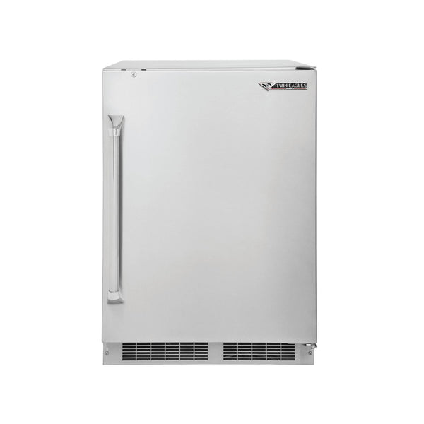 "Twin Eagles 24"" 5.1 Cu. Ft. Refrigerator w/ Lock"