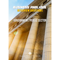 Business Analysis Interview Questions [Government/Public Sector]